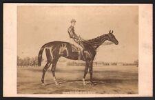 Hippisme. Cheval de course - Black-Prince. Photographe Goupil. Vers 1870. CDV