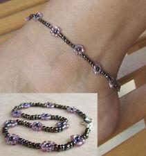 Handmade Glass Fashion Anklets
