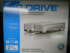 G-Technology, GDrive, Hard Drive 2TB, #0G00203, [Used Once]