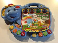 VTECH Touch and Teach Elephant Reading Music Alphabet Toddler/Baby Toy