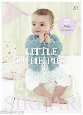 Sirdar 508 Little Cutie Pies Baby / Child Knitting Pattern Book