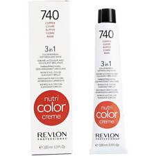 Revlon 3in1 Nutri Color Creme 100ml 740 COPPER Colour Refresh/Revive