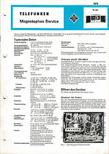 Service Manual instructions for tele radio M 291