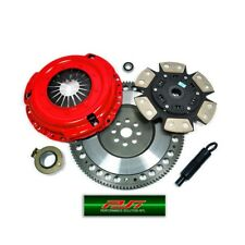 PSI RACING STAGE 3 CLUTCH KIT+CHROMOLY FLYWHEEL 88-89 COROLLA GTS FWD 1.6L 4AGE