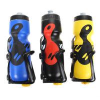 650ML Fahrradflasche Trinkflasche Sportflasche Wasserflasche Mit Getränkehalter