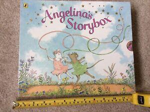 Children's angelina ballerina 6 hard cover books set
