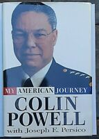 My American Story Signed by Colin Powell Autographed Hardback 1st Ed