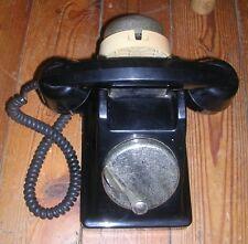 TELEPHONE BAKELITE VINTAGE  PTT CADRAN A MAGNETO  DECO