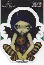 Voodoo In Blue Faery Fairy Sticker Car Decal Jasmine Becket-Griffith Strangeling
