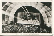 Radio City Music Hall Interior NYC ~ Real Photo RPPC