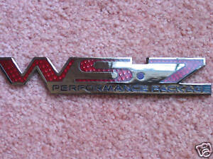 NEW Pontiac Trans Am Red WS7 Emblem (1)