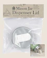 Farmhouse/Cottage/Primitive/Country Mason Jar Aluminum Grain Dispenser Lid