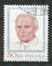 Polen 2632 gestempeld (4) paus Johannes Paulus II