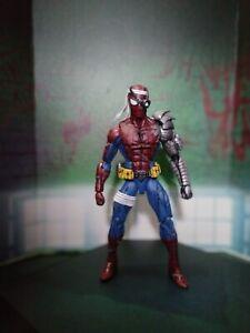 Marvel Legends Cyborg Spiderman PS4 style Custom Figure Hasbro Toybiz Mattel