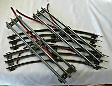 Lionel O27 straight tracks with power wires soldered on 4 pieces.
