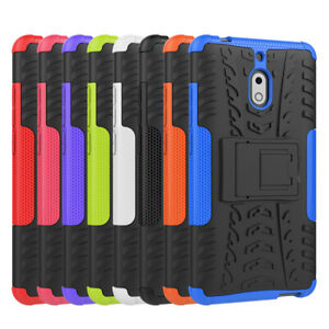 Heavy Duty Tough Shockproof Rugged Kickstand Anti-Knock Case Cover For Nokia 2.1