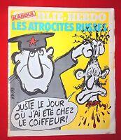 CHARLIE HEBDO n°500. 1980. Couverture REISER. Etat neuf