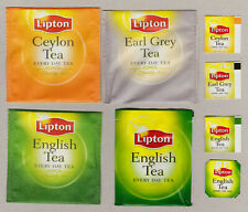 LIPTON TEABAG ENVELOPES AND TAGS COLLECTION 606