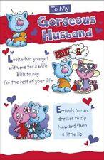 A mi marido gergeous día de San Valentín Tarjeta.. UKG 447222
