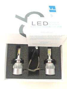 2x Luces Bombillas blancas LED Xenon coche C6 H7 36W 3800LM 6000K 60000 Horas
