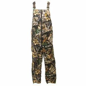 HOT SHOT Men's Insulated Camo Bib, Leg Zippers, Designed for All Day Comfort…