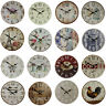 Vintage Rustic Retro Shabby Chic Antique Kitchen Home French Style Wall Clock