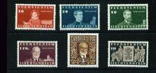 LIECHTENSTEIN, 1940 Geburtstag 186-91 **, (4962)