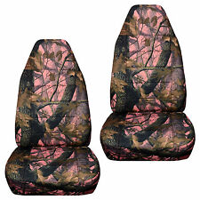 CC Front set car seat covers Ford F150 - 550 captain chairs w armrest 92-00