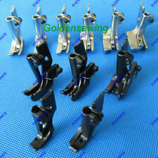 11 pairs ZIPPER WELTING PIPING FOOT with RIGHT EDGE GUIDE for JUKI DNU-1541 241