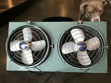 VINTAGE 50s-60s MID CENTURY ESKIMO DUAL TURNABOUT WINDOW FAN EX. COND. SERVICED