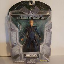 2002 Art Asylum Star Trek Nemesis Shinzon Figure with Reman Dagger.