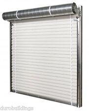 DuroSTEEL JANUS 14'x14' Insulated 3100i Series Windlock Rated Rollup DOOR DiRECT