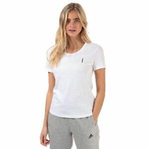 Women's adidas Brilliant Basics Crew Neck Regular Fit T-Shirt in White