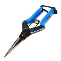 Chikamasa Spring Loaded Hydroponic Bud Trimming Pruning Scissors