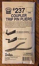 HOn3 to O Scale - KADEE TOOLS # 237 COUPLER TRIP PIN PLIERS - ONE Pair