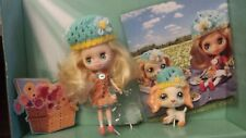 Littlest Pet Shop #B5 y #1615 muñeca Blythe y Perro Cocker Spaniel