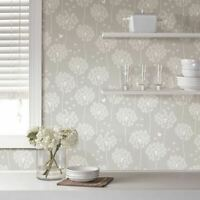 Wall Pops NU1651 Dandelion Taupe Peel and Stick NuWallpaper
