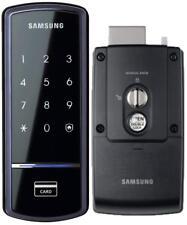 Samsung Ezon Smart Digital Door lock SHS-1321 keyless Black 4ea Touch Keys