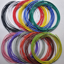 PVC Electronic Wire   Stranded Hook Up Wire  UL1007 300V 80°ALL Color
