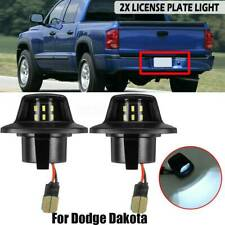 SUPER BRIGHT 1997-11 Dodge Dakota Raider 9 SMD LED License Plate Light Lamp Pair