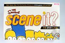 ~~THE SIMPSONS SCENE IT DVD BOARD GAME Mattel 2009