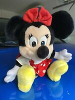 Vintage Disneyland Walt Disney World Plush Minnie Mouse Stuffed Toy
