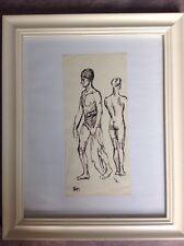 STEINLEN (THEOPHILE) Original Ink Drawing