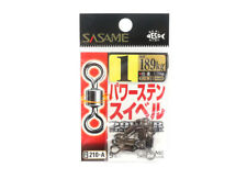 Sasame 210-A Power Stain Swivel Smooth Spin Black Size 1 (0891)