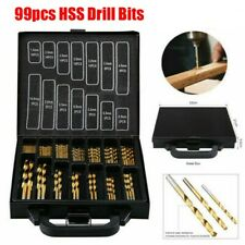 99pc Cobalt Drill Bits Set for Stainless Steel Metal Wood Plastic Hss Hand Tools