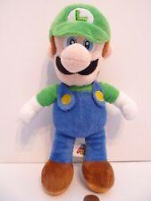 """Super Mario Bros Luigi 12"""" inches Plush Figure 2018 Nintendo !"""