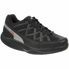 Mbt Sport 3 Black Womens Low-top Comfort Lace-up Sneakers Trainers