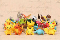 Pokemon GO High Quality Pikachu Figures 24 Pcs Set Cake Topper Party Toy Gift
