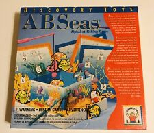 Discovery Toys ( Abc ) Ab Seas Alphabet Fishing Game Educational New/Sealed 4+