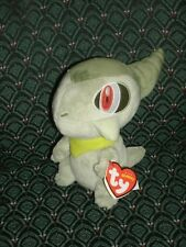 """Ty Beanie Baby ~ Axew the 7"""" Pokemon Uk Exclusive New ~ Mint with Mint Tags Rare"""